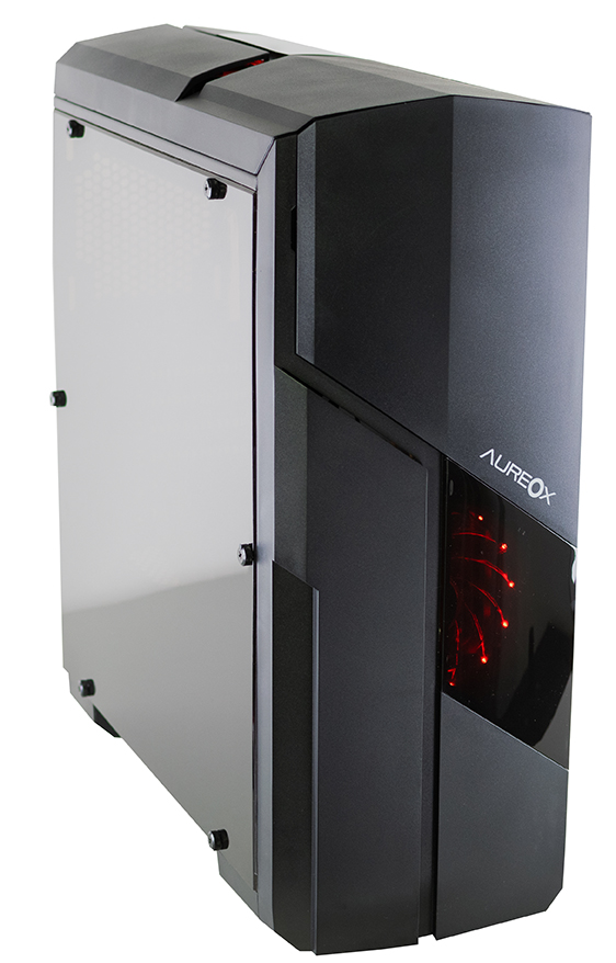 GABINETE GAMER AUREOX ALBORYX ARX 310G perfil