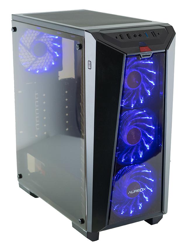 GABINETE GAMER AUREOX NEREID ARX 320G perfil